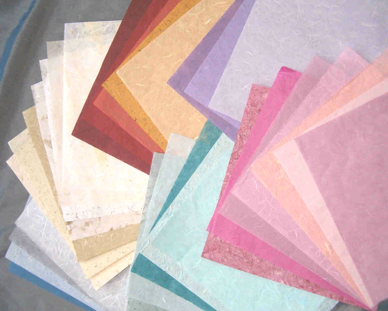 Selection of Handmade Papers