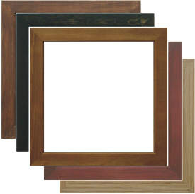 Choose From 5 Box Frame Colours