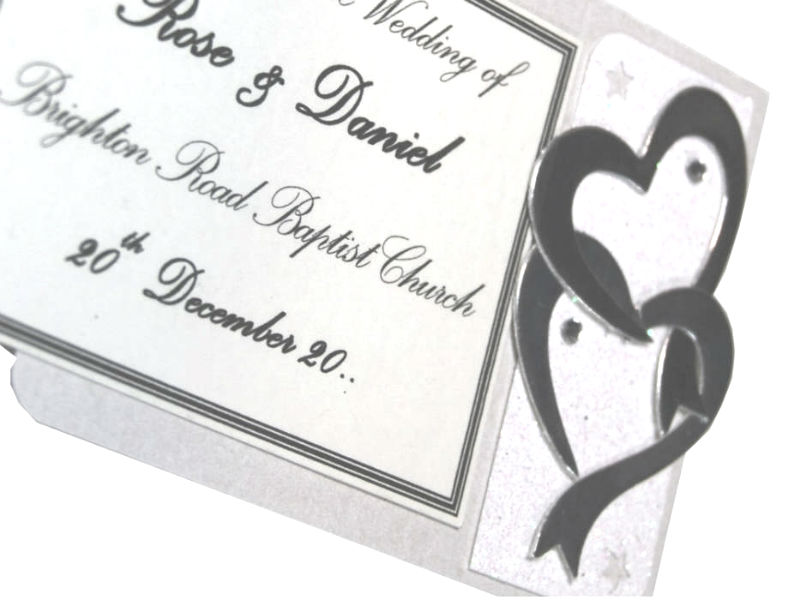Wedding Motif Entwined Hearts