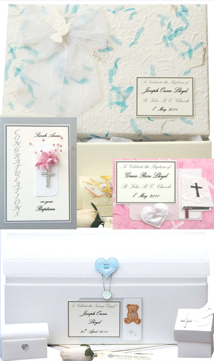 Baptism, Christening and Naming Day Keepsakes