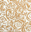 Gold Chantilly Roses Handmade Silk Mulberry Paper