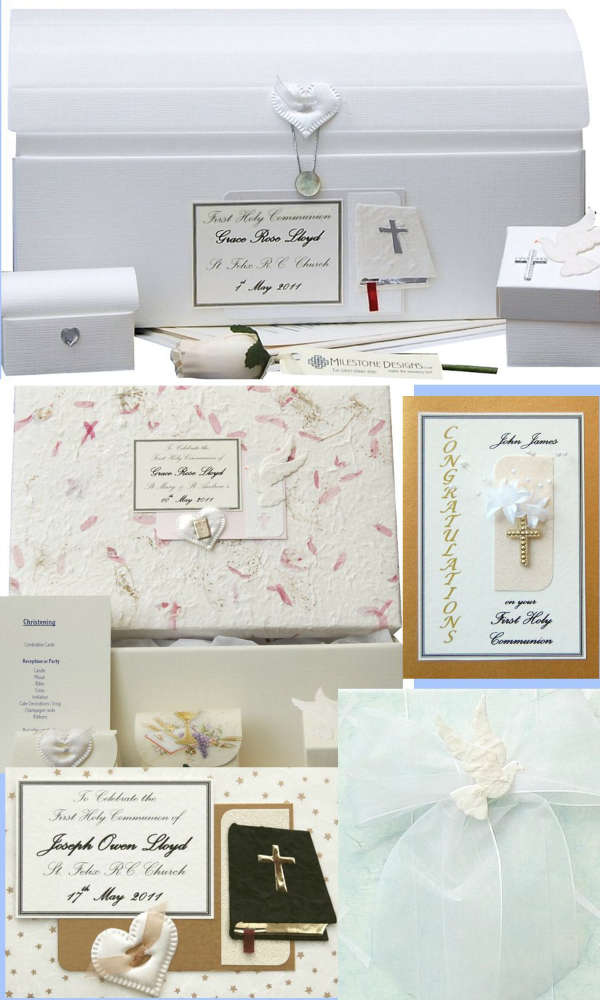 First Holy Communion & Confirmation Keepsakes & Cards