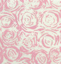 Pink Blossom Roses Handmade Silk Mulberry Paper