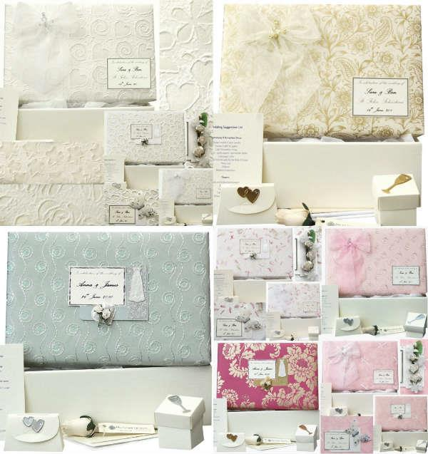 Beautiful Wedding Keepsake Memory Boxes