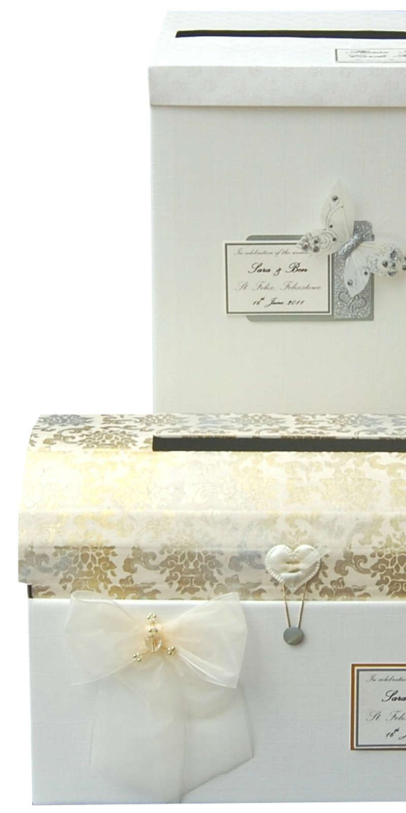 Wedding Gift Post Boxes Uk : Photo Album, Post Box, Post Chest with matching Greetings Card & we ...